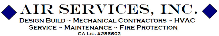 Air Services, Commercial HVAC in Rancho Cordova, CA
